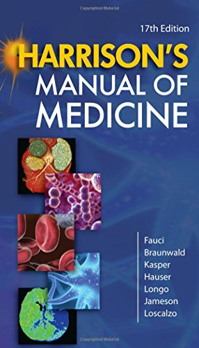 9780071477437: Harrison's Manual of Medicine, 17th Edition