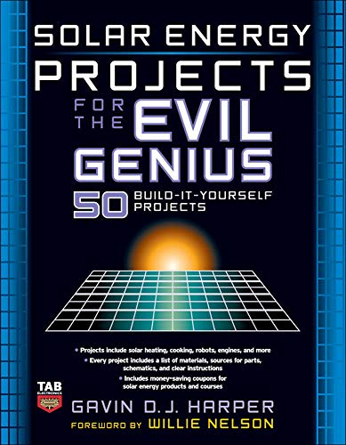 9780071477727: Solar Energy Projects for the Evil Genius