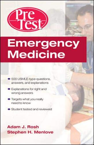 9780071477857: Emergency Medicine PreTest Self-Assessment and Review (PreTest Clinical Science)