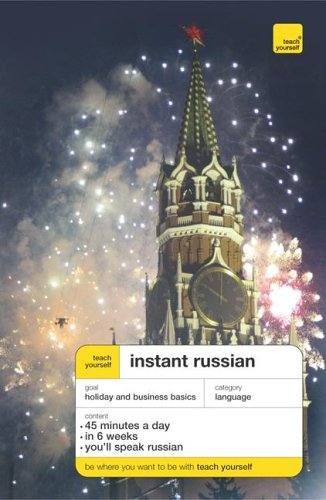 9780071478229: Teach Yourself Instant Russian (TY: Language Guides)