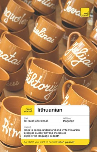 9780071478410: Teach Yourself Lithuanian, Complete Course (Book Only) (TY: Complete Courses)