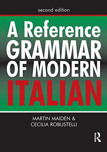 9780071478731: A Reference Grammar of Modern Italian