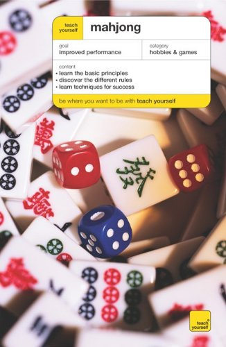 9780071478823: Teach Yourself Mahjong (Teach Yourself: Games/Hobbies/Sports)