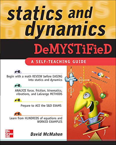 9780071478830: Statics and Dynamics Demystified