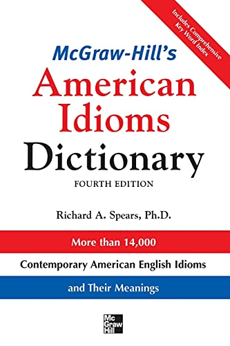 9780071478939: McGraw-Hill's Dictionary of American Idioms Dictionary (McGraw-Hill ESL References)