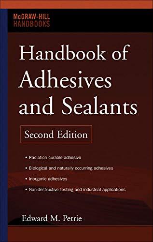 9780071479165: Handbook of adhesives and sealants (Economia e discipline aziendali)