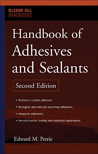 9780071479165: Handbook of Adhesives and Sealants (Mechanical Engineering)
