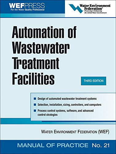 9780071479370: Automation of Wastewater Treatment Facilities - MOP 21 (WEF Manual of Practice)