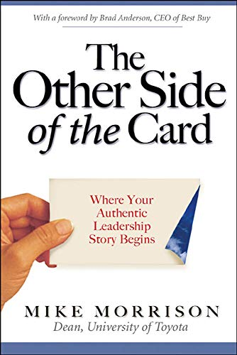 9780071479400: The Other Side of the Card: Where Your Authentic Leadership Story Begins