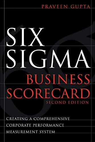 9780071479431: Six Sigma Business Scorecard