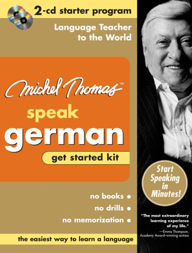 9780071479677: Michel Thomas Speak German Get Started Kit: 2-CD Starter Program (Michel Thomas Series)