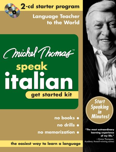 9780071479721: Speak Italian: Get Started Kit (Michel Thomas Speak...)