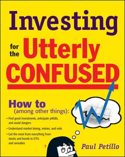 9780071480468: Investing for the Utterly Confused