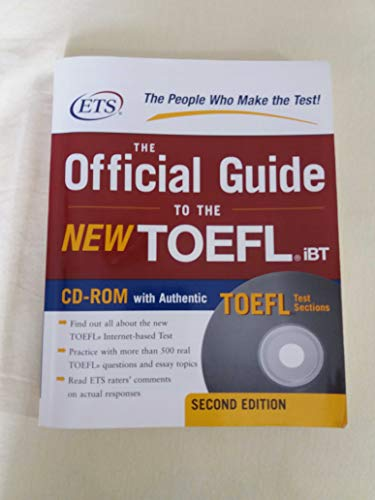 9780071481069: Title: The Official Guide to the New TOEFL Ibt
