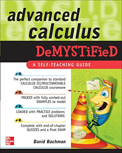 9780071481212: Advanced Calculus Demystified