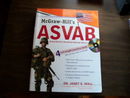 9780071481250: McGraw-Hill's ASVAB 4 Full-Length Practice Tests