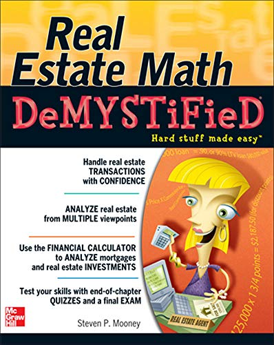 9780071481380: Real Estate Math Demystified