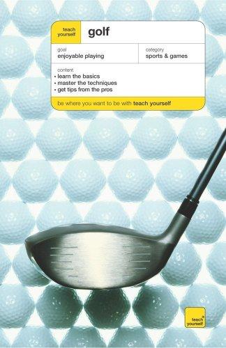 9780071481557: Teach Yourself Golf, New Edition (Teach Yourself: Games/Hobbies/Sports)