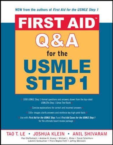 9780071481724: First Aid(TM) Q&A for the USMLE Step 1 (First Aid Series)