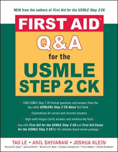 9780071481731: First Aid Q&A for the USMLE Step 2 CK (First Aid USMLE)