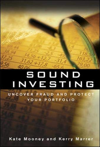 9780071481823: Sound Investing: Uncover Fraud and Protect Your Portfolio