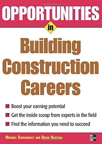 9780071482059: Opportunities in Building Construction Careers
