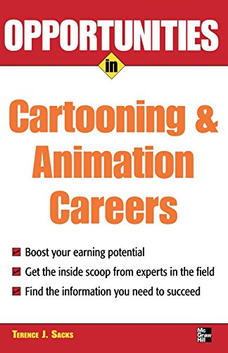 9780071482066: Opportunities in Cartooning & Animation Careers