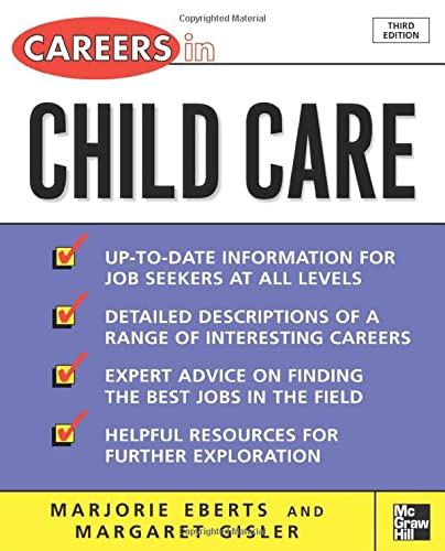 9780071482110: Careers in Child Care (Careers Series)