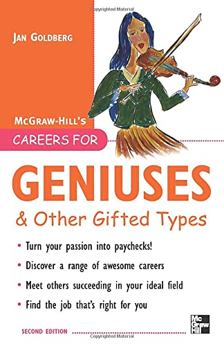 9780071482165: Careers for Geniuses & Other Gifted Types