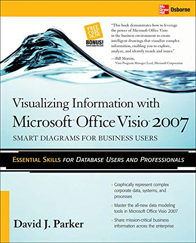 9780071482615: Visualizing Information with Microsoft� Office Visio� 2007