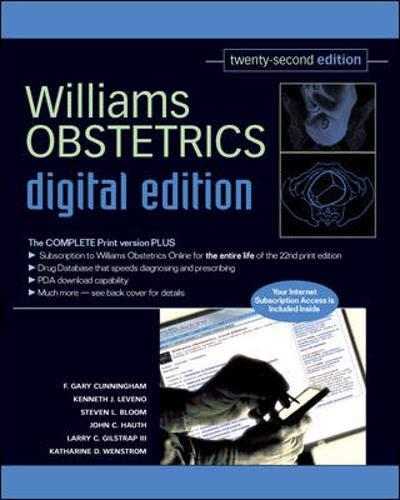 9780071482745: Williams Obstetrics, 22ed - Digital Edition