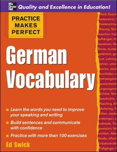 9780071482851: Practice Makes Perfect: German Vocabulary (Practice Makes Perfect Series)