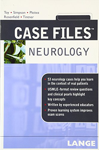 9780071482875: Case Files Neurology (LANGE Case Files)