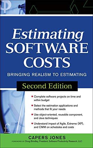 9780071483001: Estimating Software Costs: Bringing Realism to Estimating