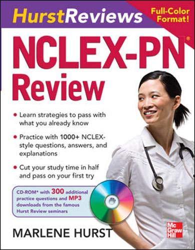 9780071484305: Hurst Reviews NCLEX-PN Review