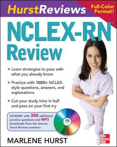 9780071484312: Hurst Reviews NCLEX-RN Review