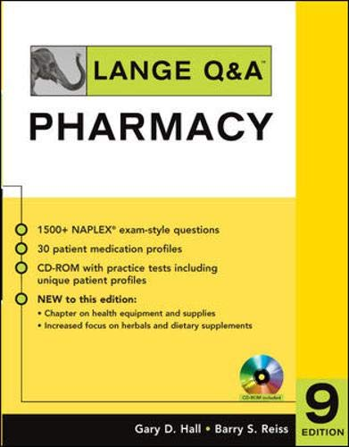 9780071484459: Lange Q&A: Pharmacy, Ninth Edition (Lange Q&A Allied Health)
