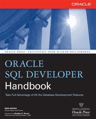9780071484749: Oracle SQL Developer Handbook