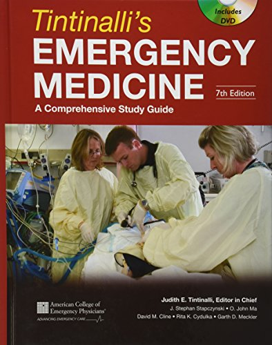 9780071484800: Tintinalli's Emergency Medicine: A Comprehensive Study Guide, Seventh Edition (Book and DVD) (Emergency Medicine (Tintinalli))