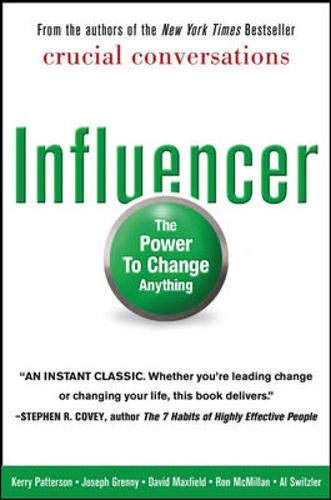 9780071484992: Influencer: The Power to Change Anything, First edition (Hardcover)