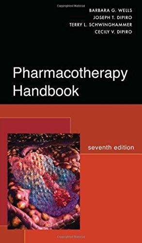 9780071485012: Pharmacotherapy handbook