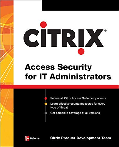 9780071485432: Citrix  Access Security for IT Administrators