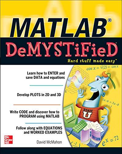 9780071485517: MATLAB Demystified