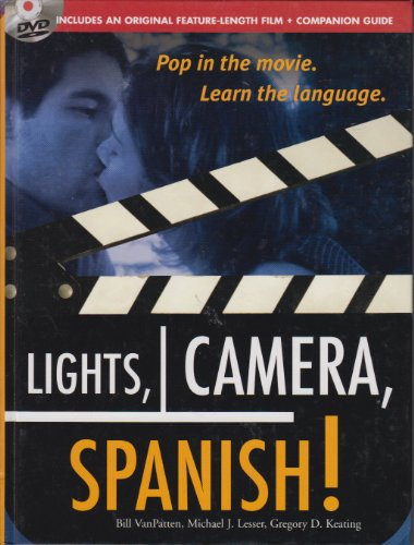9780071485524: Lights, Camera, Spanish!: Pop in the Movie, Learn the Language