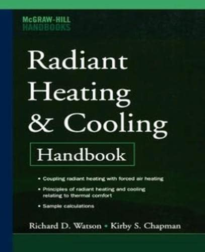 9780071485562: Radiant Heating and Cooling Handbook