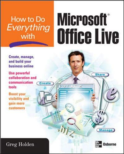 9780071485609: How to Do Everything with Microsoft Office Live