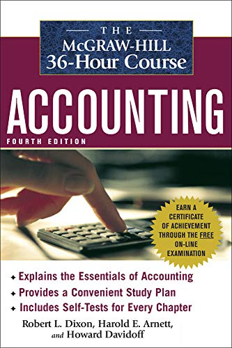 9780071486033: The McGraw-Hill 36-Hour Accounting Course, 4th Ed (McGraw-Hill 36-Hour Courses)