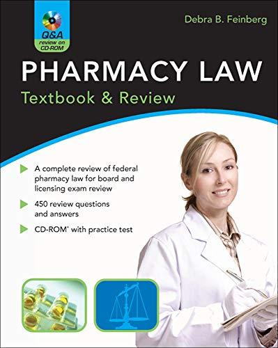 9780071486354: Pharmacy Law: Textbook & Review