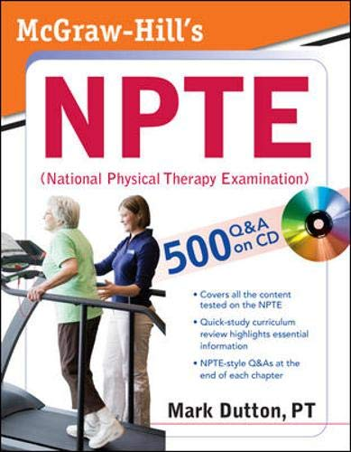 9780071486415: McGraw-Hill's NPTE (National Physical Therapy Examination) (Lange)
