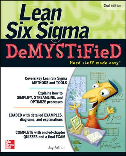 9780071486507: Lean Six Sigma Demystified: A Self-Teaching Guide